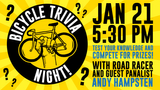 Bike Works Bicycle Trivia Night featuring Andy Hampsten