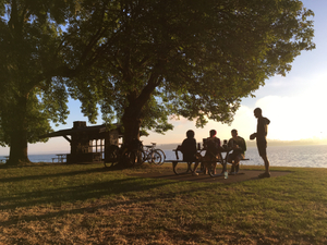 Coffee Outside - Madrona Park