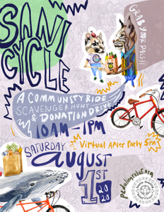 Sani Cycle: community ride-donation drive